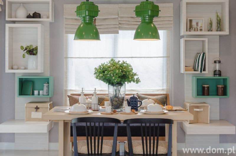 Zelena boja u interijeru